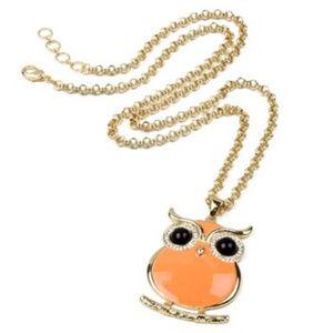 Amrita Singh Miami Owl Necklace